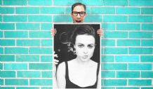 Helena bonham carter smoking Art - Wall Art Print Poster   - Geekery Art Geekery